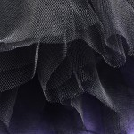 Soft Tulle Nero Black