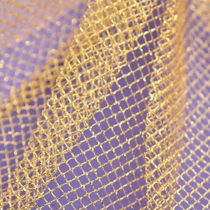 Stiff Net – Metallic Gold