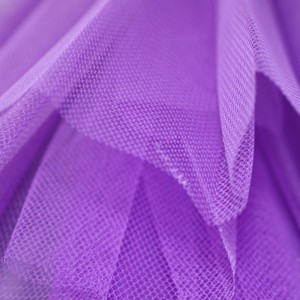Viola – Purple – Stiff Net