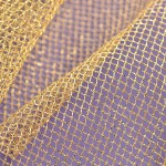 Soft Tulle - Metallic Gold
