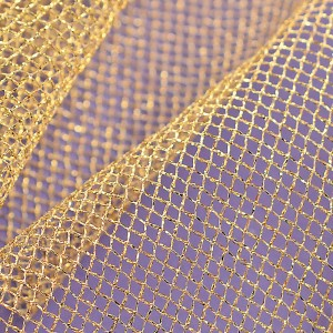 Soft Tulle – Metallic Gold