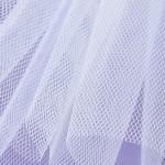 Stiff Net - Bianco White