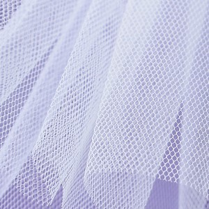 Stiff Net – Bianco White