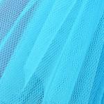 Stiff Net - Pavone Turquoise