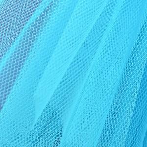 Stiff Net – Pavone Turquoise