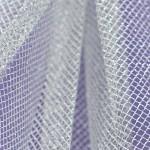 Stiff Net - Metallic Silver