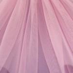 Dark Pink - Stiff Net
