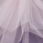 Rosa - Pale Pink - Stiff Net